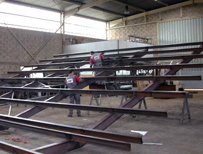 Mota produits construction m tallique - Detail charpente metallique ...